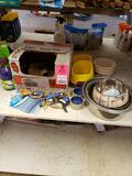 Large assortment of dog products. New.