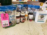 Large qty of assorted canine treatment and products. New.
