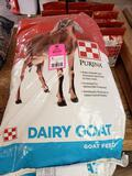 Qty 4 - Dairy Goat food product. New.