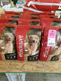 Qty 12 - Bags of dog food as pictured. New.