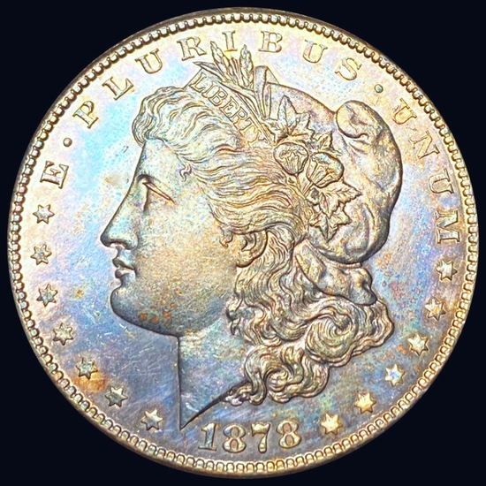 1878-S Morgan Silver Dollar GEM BU