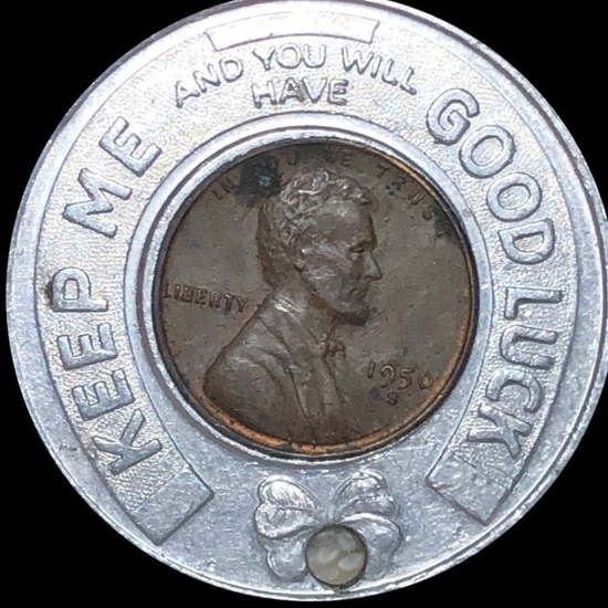 1950-S Lincoln Good Luck Token UNCIRCULATED