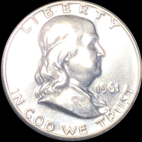 1961 Franklin Half Dollar UNCIRCULATED