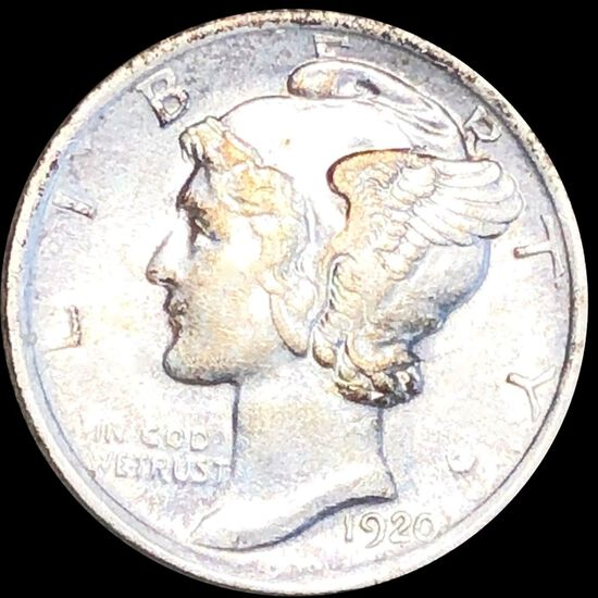 1920 Mercury Silver Dime CLOSELY UNCIRCULATED