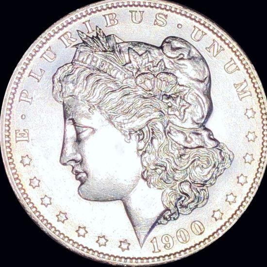 1900-S Morgan Silver Dollar CLOSELY UNC