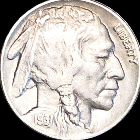 1931-S Buffalo Head Nickel LIGHTLY CIRCULATED