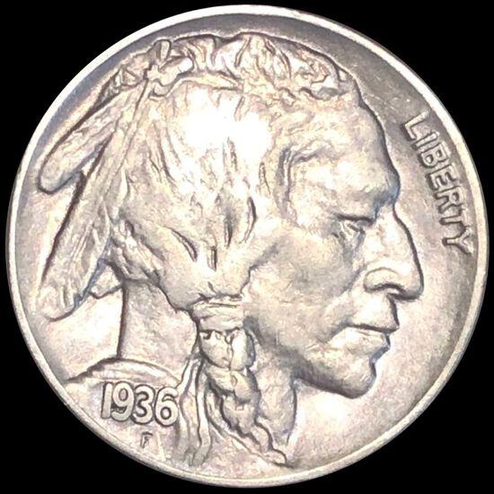 1936 Buffalo Head Nickel LIGHTLY CIRCULATED