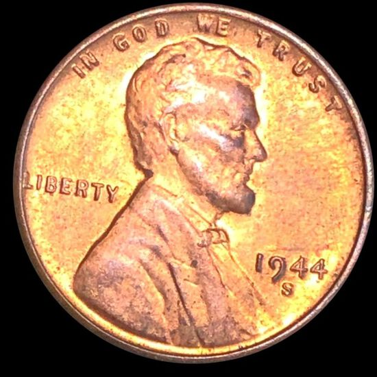 1944-S Lincoln Wheat Penny UNCIRCULATED