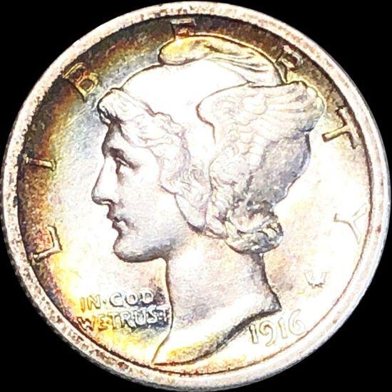 1916 Mercury Silver Dime UNCIRCULATED