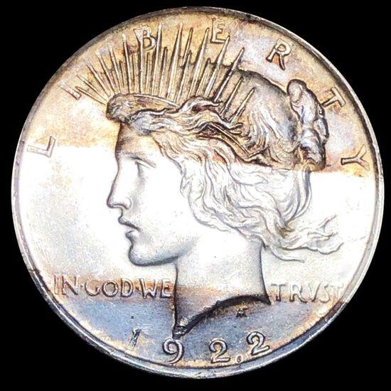 1922 Silver Peace Dollar UNCIRCULATED