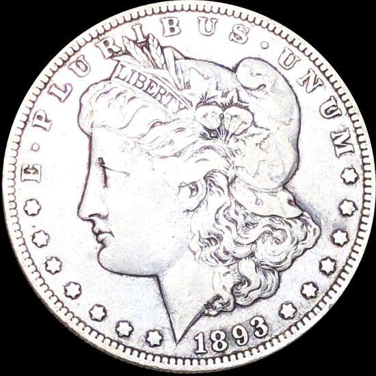 1893-O Morgan Silver Dollar NICELY CIRCULATED