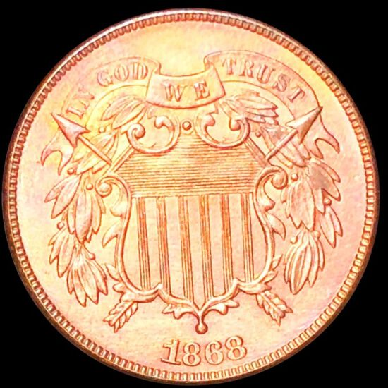 1868 Two Cent Piece UNCIRCULATED