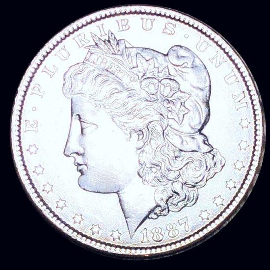 1887 Morgan Silver Dollar UNCIRCULATED