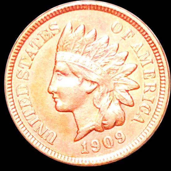 1909 Indian Head Penny CLOSELY UNCIRCULATED