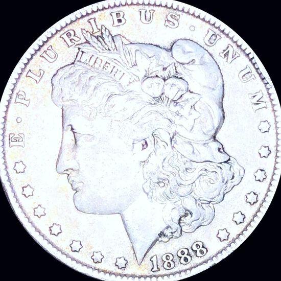 1888-O Morgan Silver Dollar LIGHTLY CIRCULATED