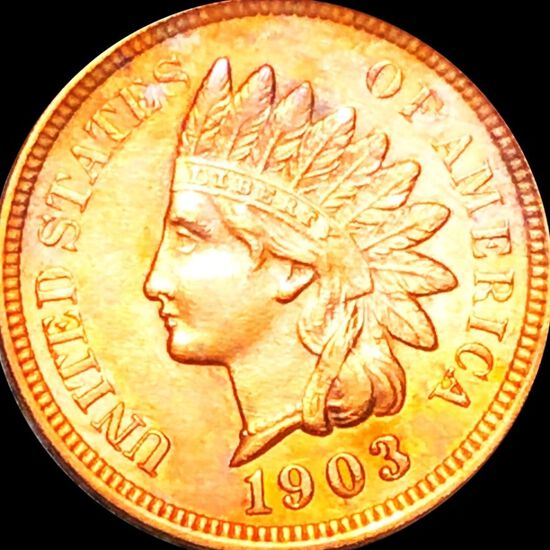 1903 Indian Head Penny CLOSELY UNCIRCULATED