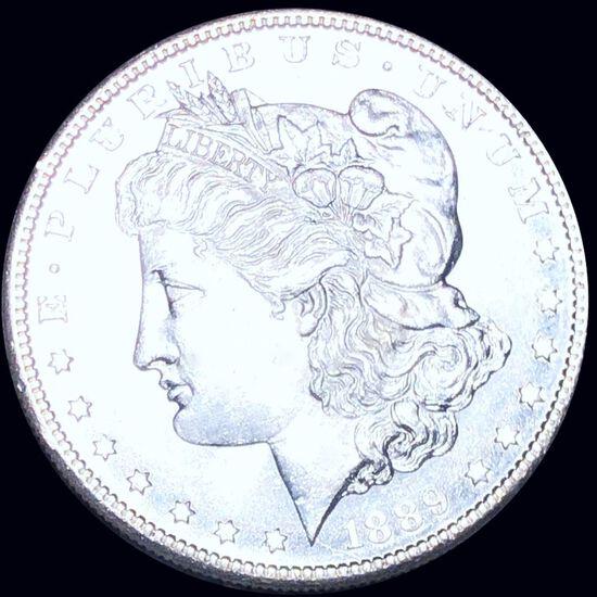 1889-S Morgan Silver Dollar UNCIRCULATED