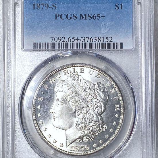 1879-S Morgan Silver Dollar PCGS - MS65+