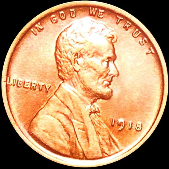 1918 Lincoln Wheat Penny UNCIRCULATED