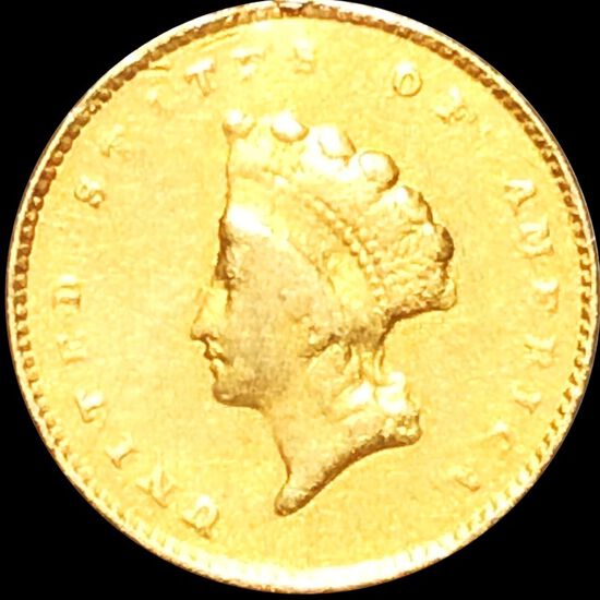 1855-O Rare Gold Dollar LIGHTLY CIRCULATED