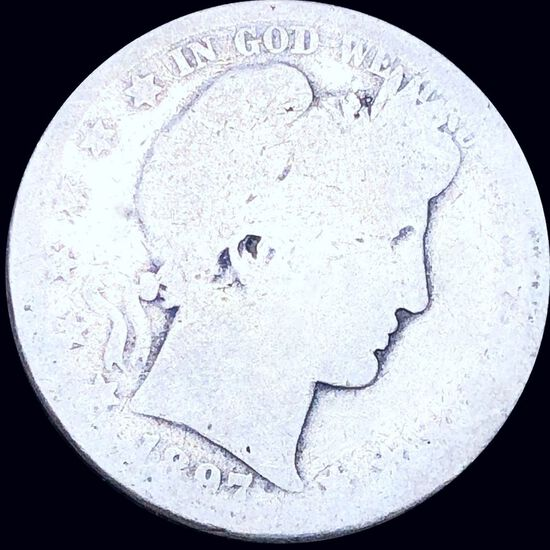 1897-O Barber Half Dollar NICELY CIRCULATED