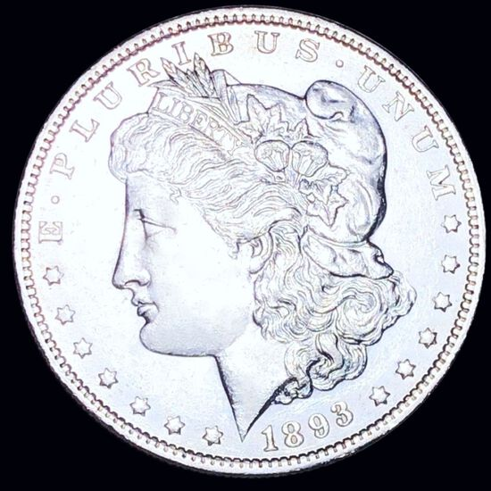 1893-O Morgan Silver Dollar UNCIRCULATED