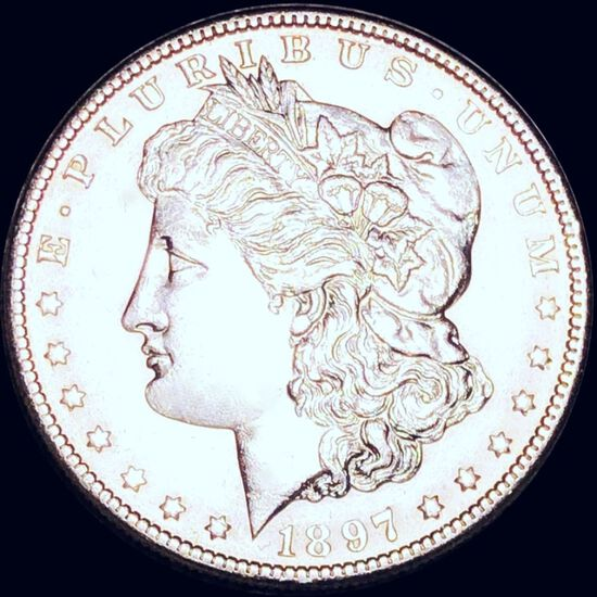 1897-O Morgan Silver Dollar UNCIRCULATED