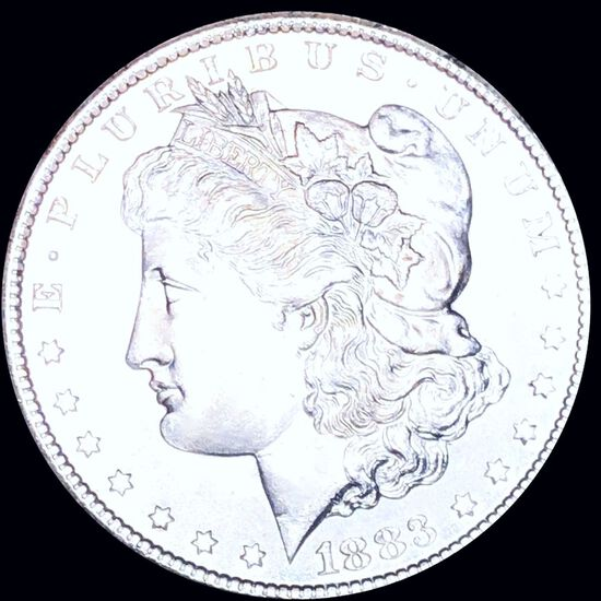 1883-CC Morgan Silver Dollar UNCIRCULATED