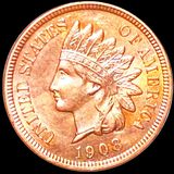 1908 Indian Head Penny UNCIRCULATED