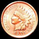 1901 Indian Head Penny UNCIRCULATED