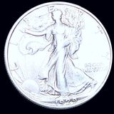 1929-S Walking Half Dollar ABOUT UNCIRCULATED