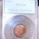 1902 Indian Head Penny PCGS - MS 63 RD
