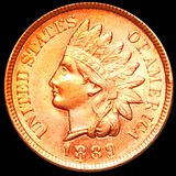 1889 Indian Head Penny UNCIRCULATED