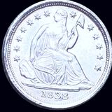 1838 Seated Liberty Half Dime UNCIRCULATED