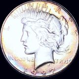 1927-S Silver Peace Dollar CLOSELY UNCIRCULATED