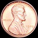 1909 V.D.B. Lincoln Wheat Penny UNCIRCULATED