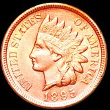 1895 Indian Head Penny UNCIRCULATED
