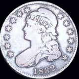 1832 Capped Bust Half Dollar NICELY CIRCULATED