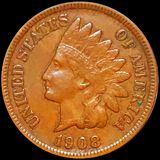 1908-S Indian Head Penny LIGHTLY CIRCULATED