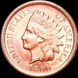 1890 Indian Head Penny UNCIRCULATED