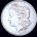 1891 Morgan Silver Dollar CLOSELY UNCIRCULATED