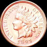 1897 Indian Head Penny UNCIRCULATED