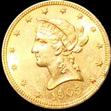 1905 $10 Gold Eagle UNCIRCULATED