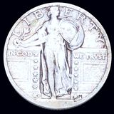 1920-D Standing Quarter LIGHTLY CIRCULATED