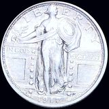 1917-D Type 1 Standing Liberty Quarter CLOSELY UNC