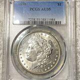 1899 Morgan Silver Dollar PCGS - AU55