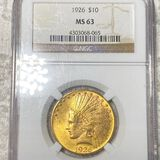 1926 $10 Gold Eagle NGC - MS63