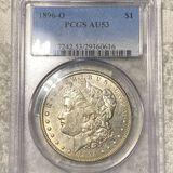 1896-O Morgan Silver Dollar PCGS - AU53