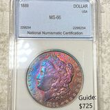 1889 Morgan Silver Dollar NNC - MS66