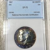 1967 SMS Kennedy Half Dollar NNC - SP70